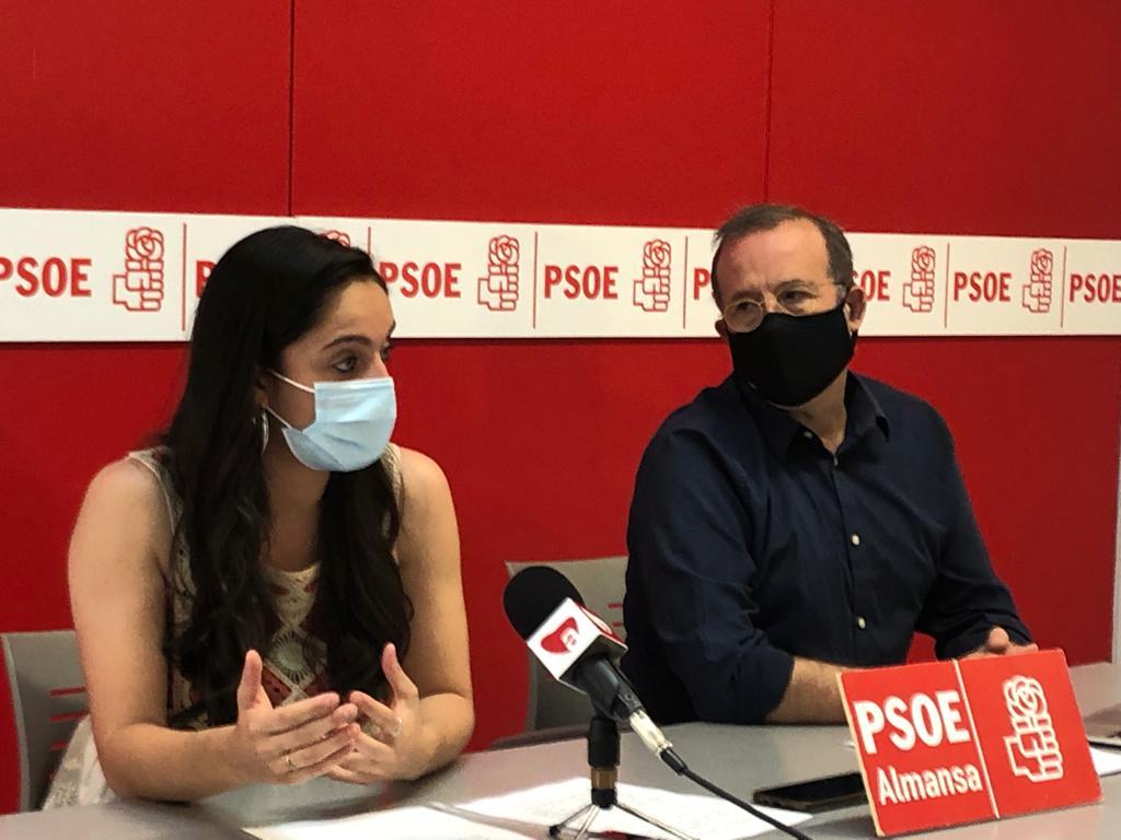 Belén Tercero y Pablo Sánchez