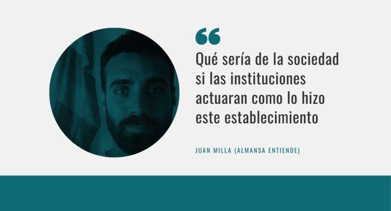 Juan Milla, Almansa Entiende, agresiones homófobas