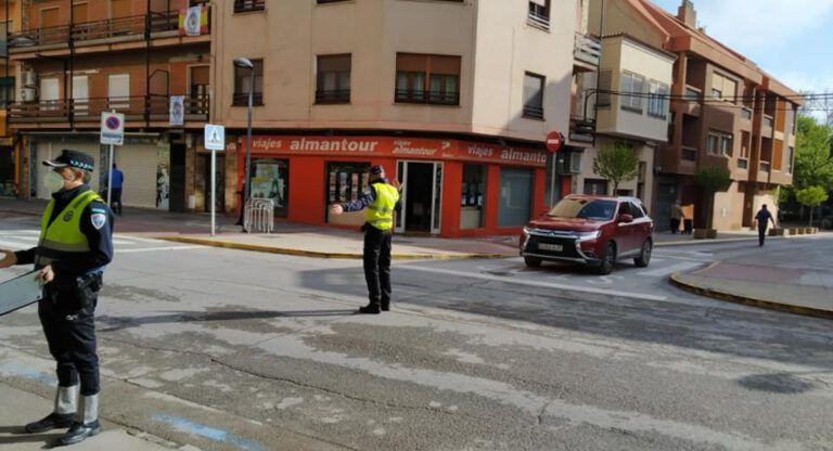 policía almansa