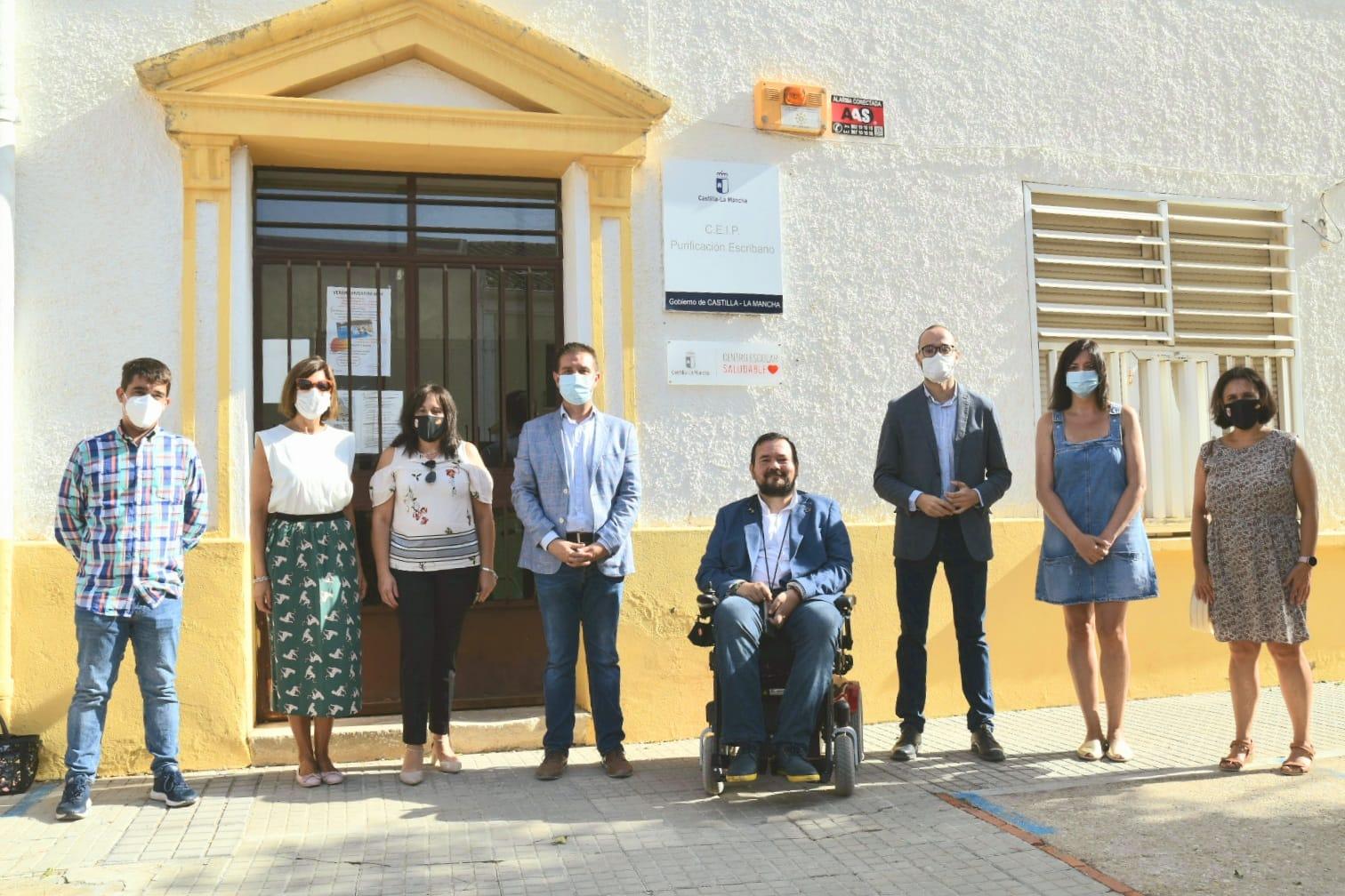 Diputación Albacete ayudas colegios limpieza