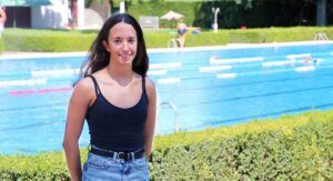 La pequeña promesa de la natación almanseña: Andrea Martínez Teruel, en el campeonato de España