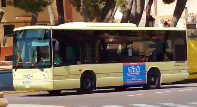 Autobus urbano almansa psoe