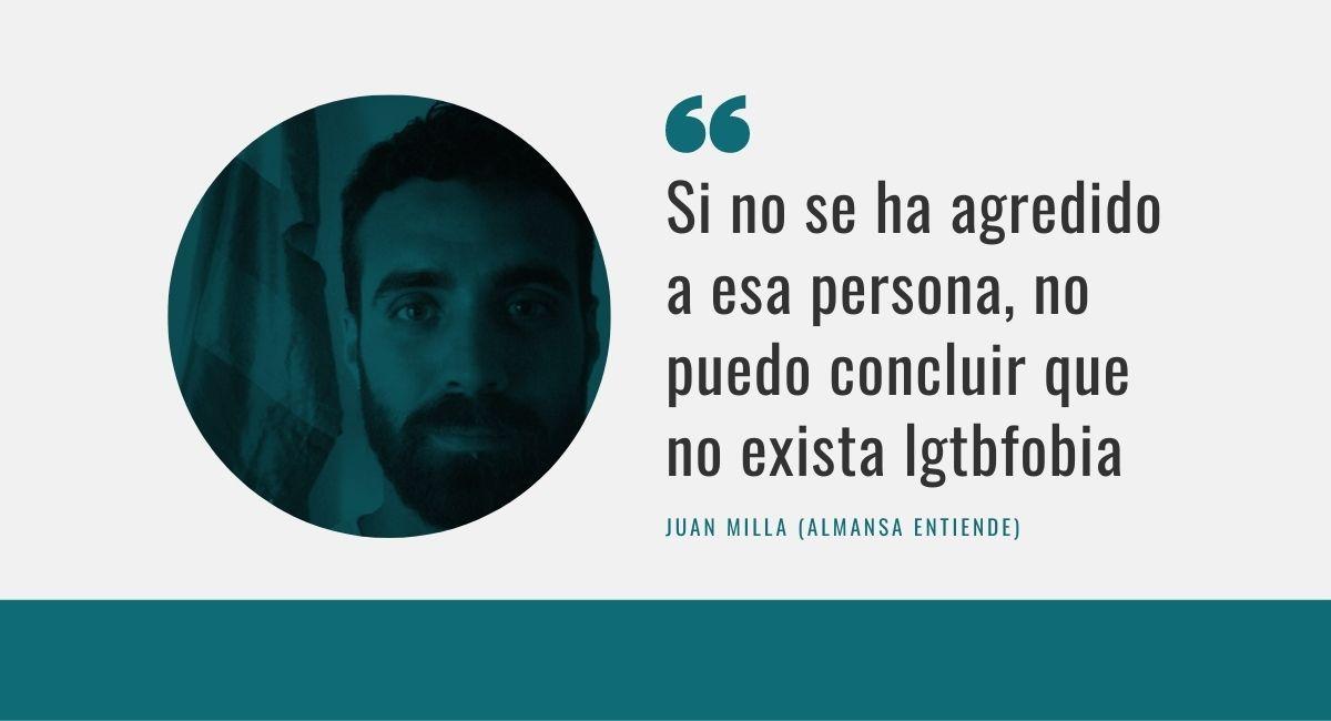 Juan Milla, sobre la denuncia homófoba de Malasaña