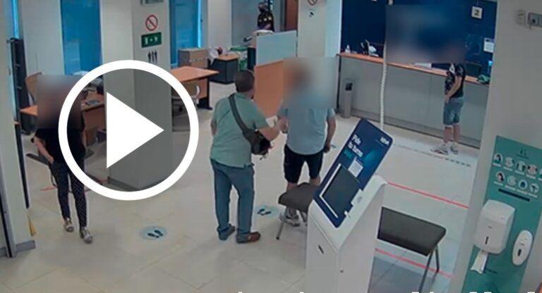 robo banco almansa