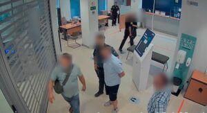 Un Guardia Civil fuera de servicio evita el robo de 170.000 euros en un banco de Almansa