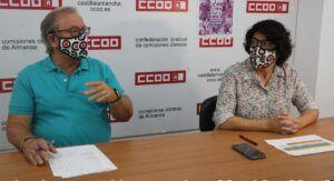 Pedro González de CCOO: «El paro en Almansa es una verdadera barbaridad»