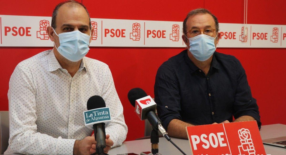 Serrano y Sánchez PSOE Almansa