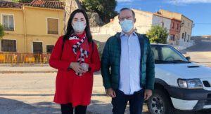 PSOE alerta sobre el estado de deterioro del Paseo de las Huertas: filtraciones, mal olor y una sentencia