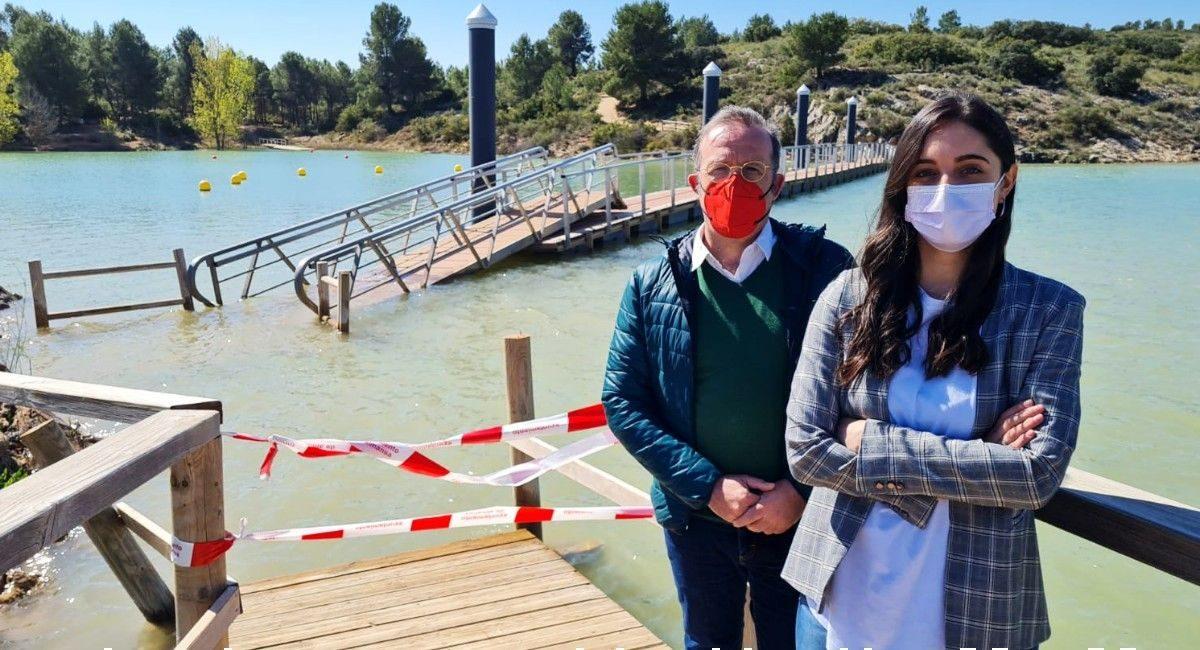 PSOE Almansa puente pantano