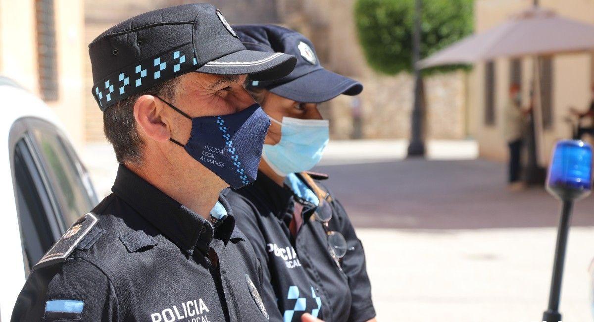 Plaza policia almansa