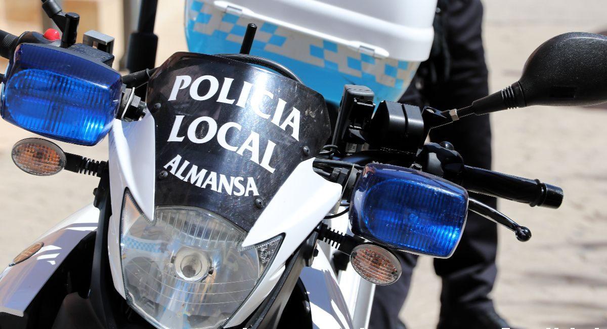 Controles policia almansa