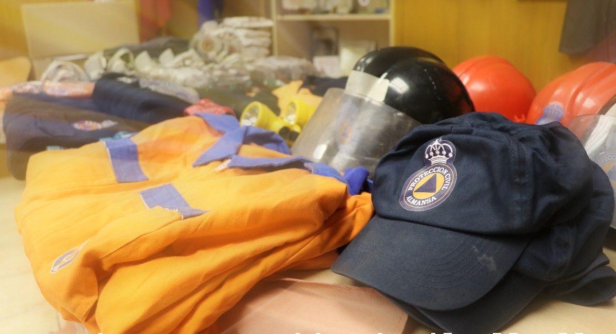 Proteccion civil almansa volcán