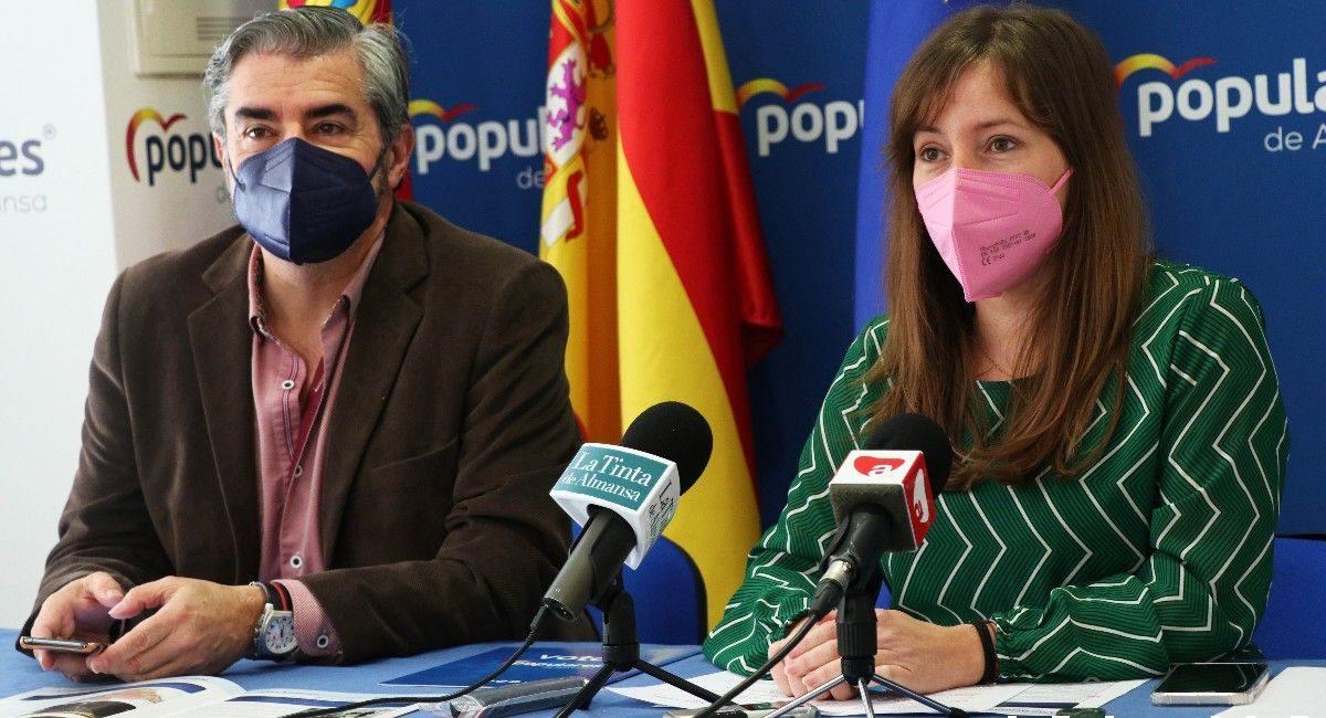 Tania Andicoberry: ¿qué ha hecho el área de Infraestructuras y Urbanismo en Almansa?