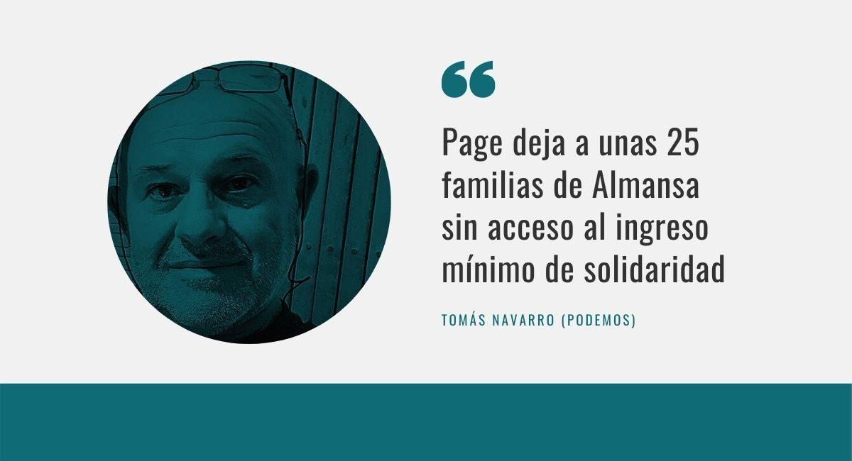 Tomás Navarro Podemos Almansa
