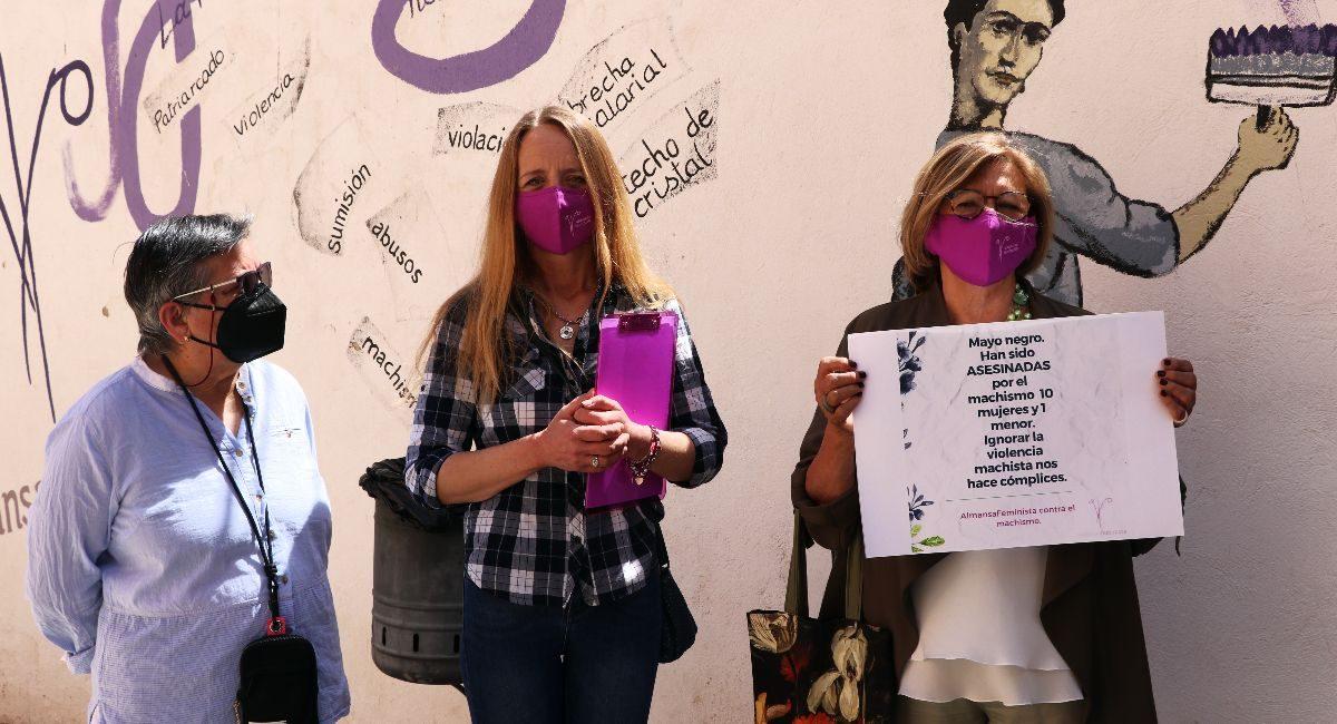 Almansa Feminista, mayo