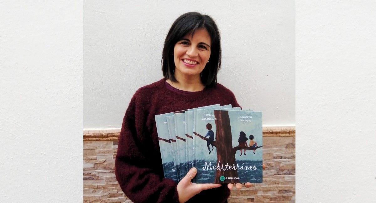 La escritora Ana Jesús Olaya
