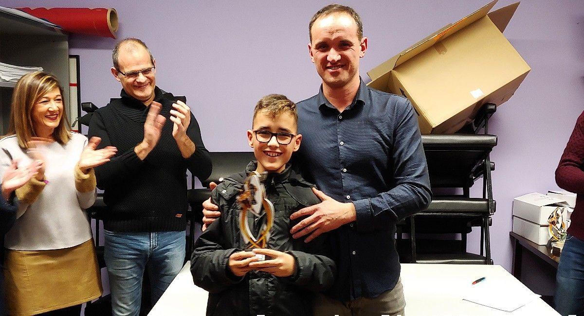 Fran Martínez se alza como campeón de ajedrez joven en Almansa