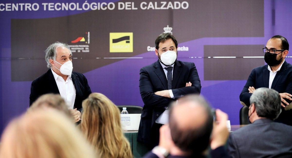 Paco Núñez adelanta que el PP pedirá apoyo para el calzado en el Congreso de los Diputados