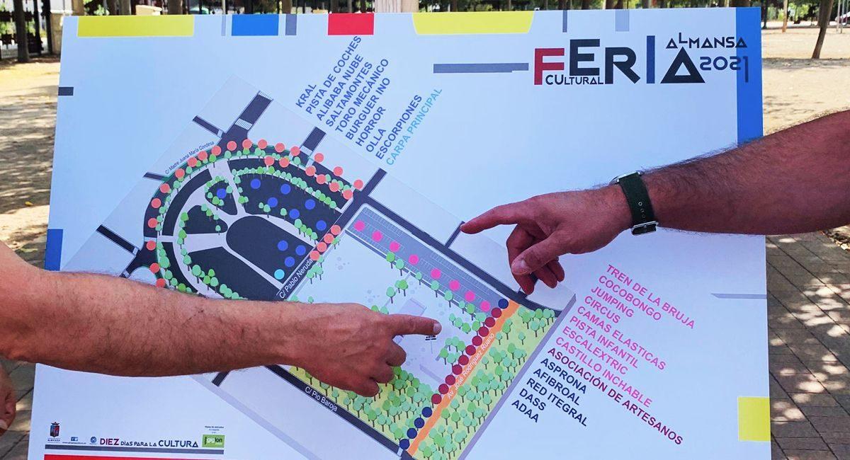 Plano Feria de Almansa 2021